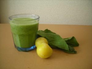 Spinach & Japanese Ume Plum